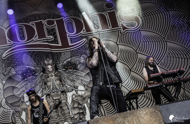 Amorphis at South Park 2018