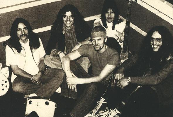 John Sloman with Uriah Heep