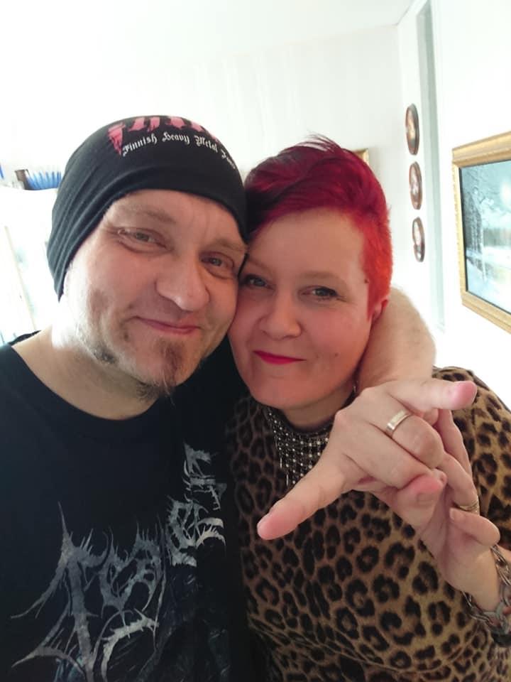 Sami ja Kaisa Sundqvist.
