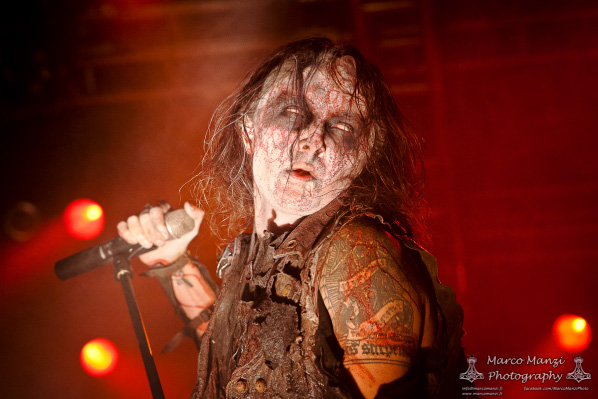 Watain, 2014. Photo by Marco Manzi.